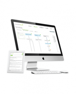 ConnectFood Process Flow Screen Shot